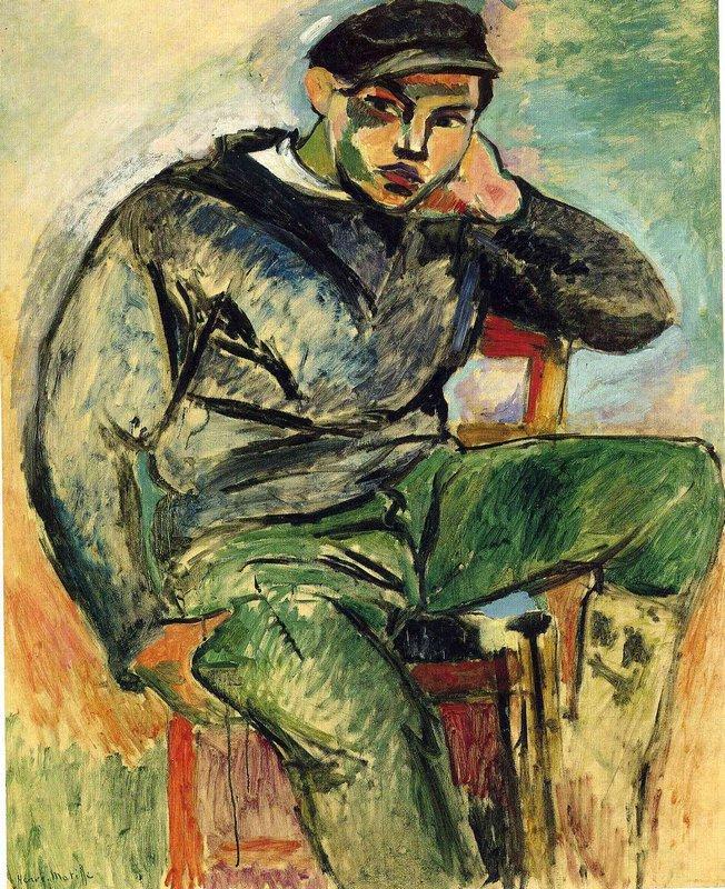 The Young Sailor I  - Henri Matisse