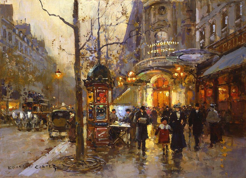 Theatre du Vaudeville - Antoine Blanchard