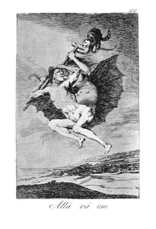 There it goes - Francisco Goya