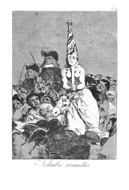 There was no help - Francisco Goya