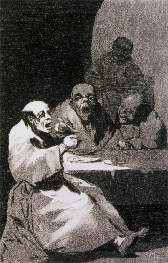 They are hot - Francisco Goya