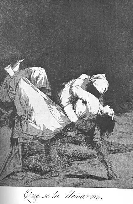 They Carried her Off - Francisco Goya