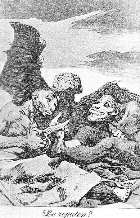 They Pare - Francisco Goya