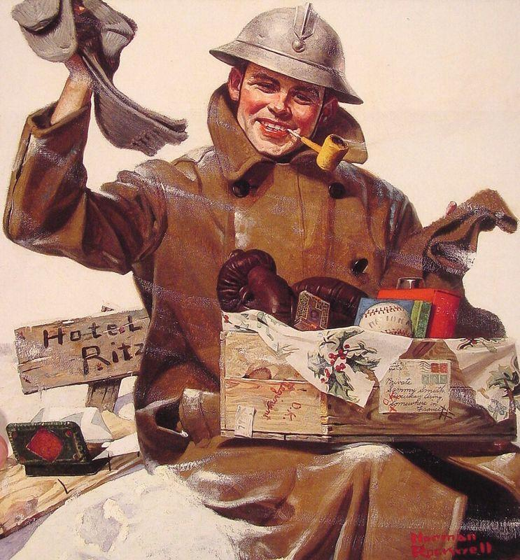 They Remembered Me - Norman Rockwell