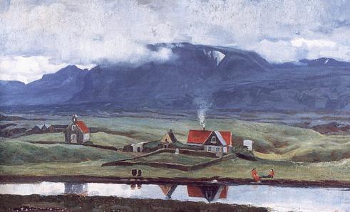 Thingvollum - Asgrimur Jonsson