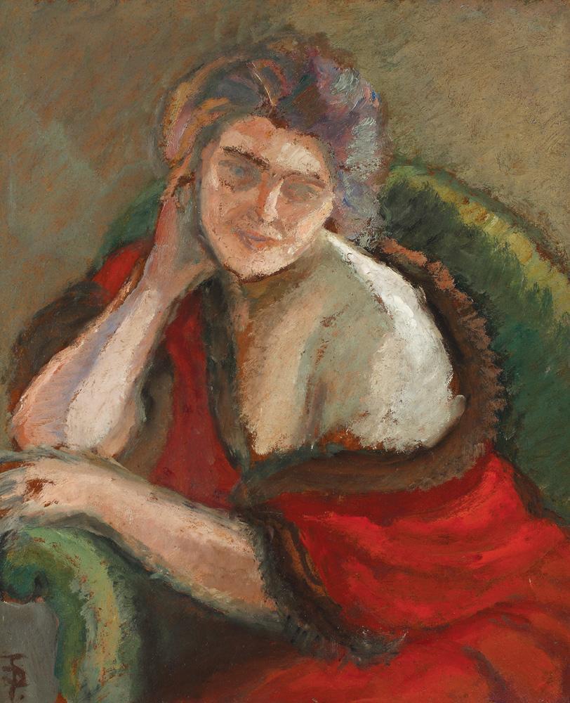 Thinking Woman - Theodor Pallady