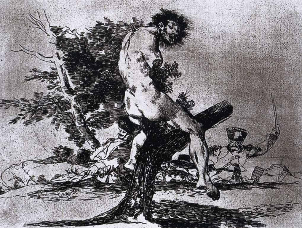 This is worse - Francisco Goya