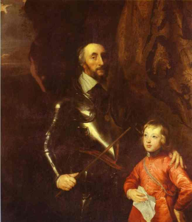 Thomas Howard, 2nd Earl of Arundel and Surrey with His Grandson Lord Maltravers - Anthony van Dyck