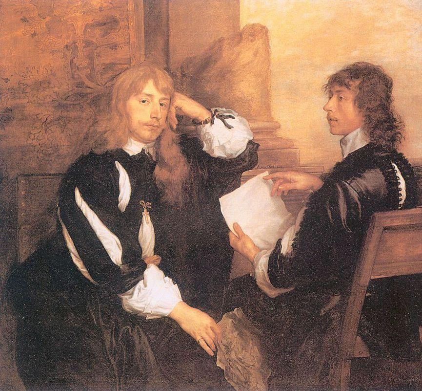 Thomas Killigrew and William, Lord Crofts - Anthony van Dyck