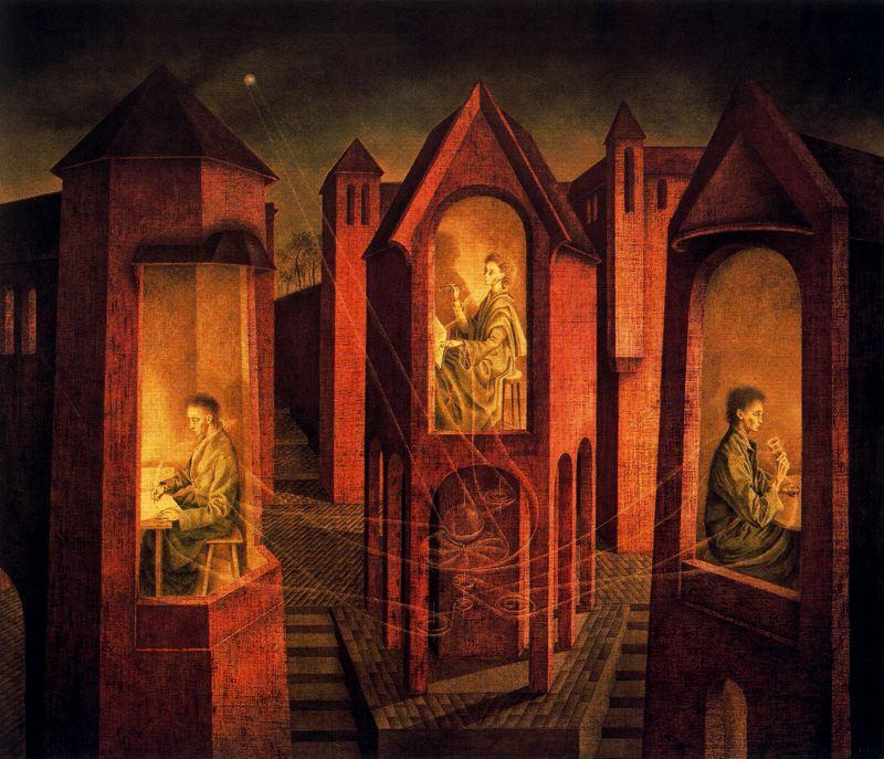 Three destinations - Remedios Varo