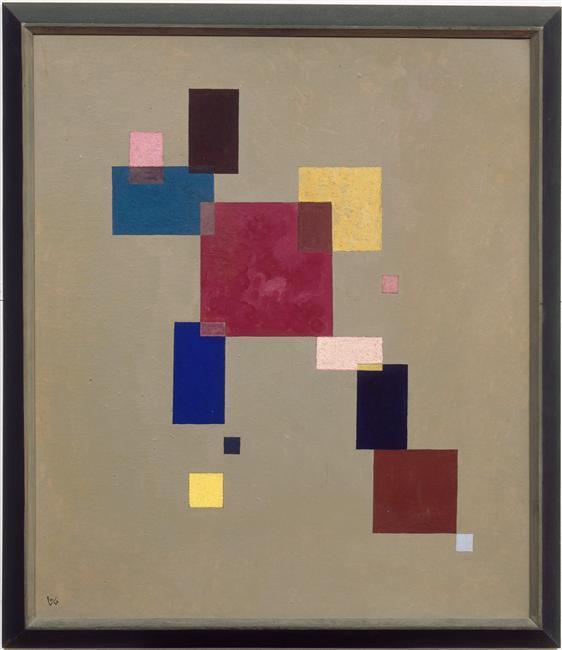 Thirteen rectangles -  Wassily Kandinsky