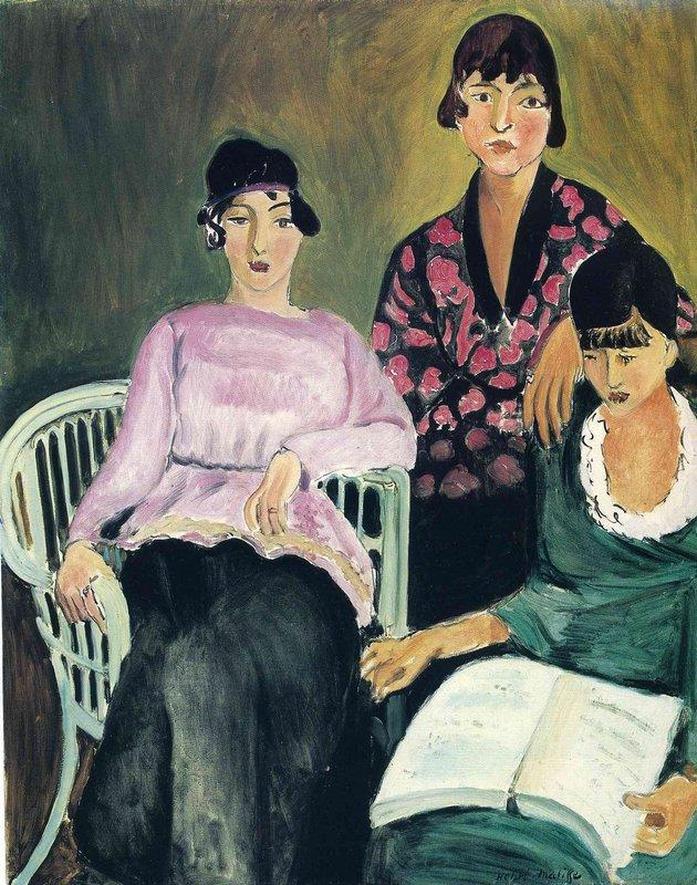 Three Sisters - Henri Matisse