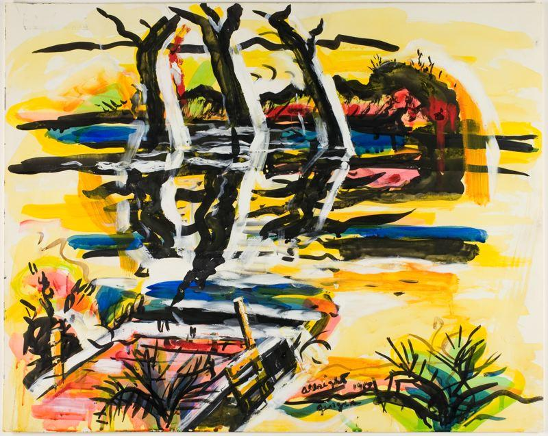 Three Trees, Georgia - Ivan Albright
