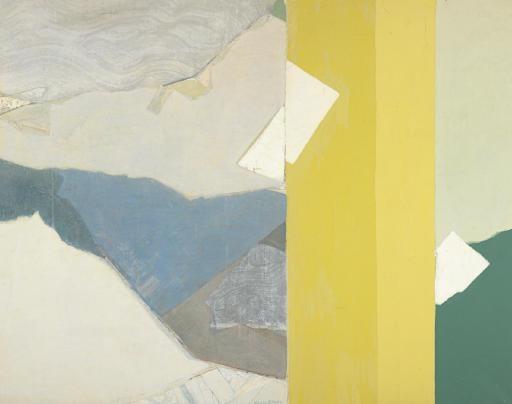 Three Whites - Kenzo Okada