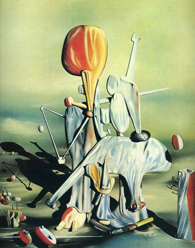 Through Birds Through Fire But Not Through Glass - Yves Tanguy