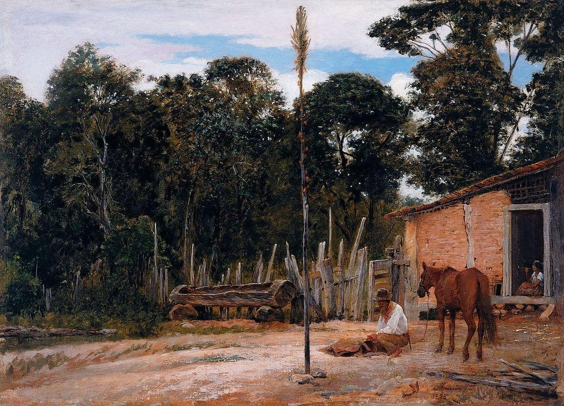 Tightening the Saddle - Jose Ferraz de Almeida Junior