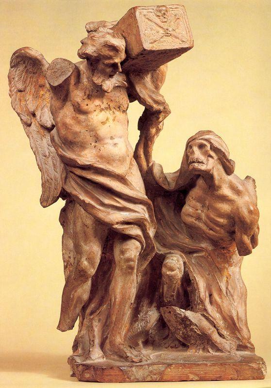 Time Arrested by Death - Gian Lorenzo Bernini