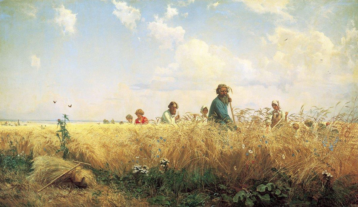 Time of harvesting (Mowers) - Grigoriy Myasoyedov