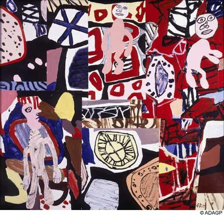 Times and places - Jean Dubuffet
