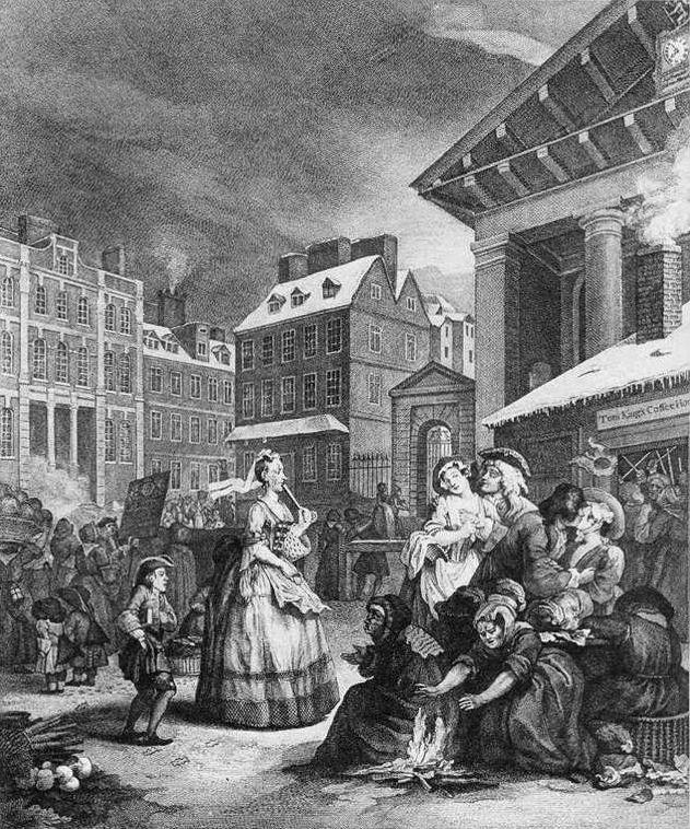 Times of the Day: Morning - William Hogarth