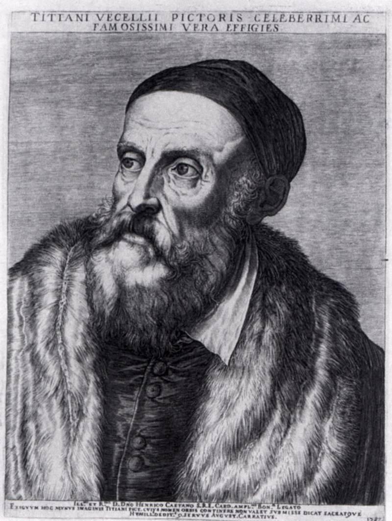Titian - Agostino Carracci