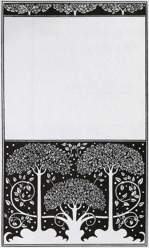 Title page of Grey Ross - Aubrey Beardsley