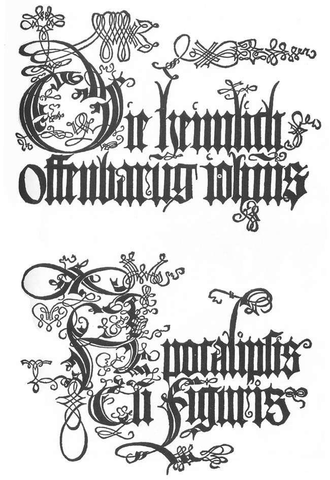 Title page to the edition of 1498 - Albrecht Durer