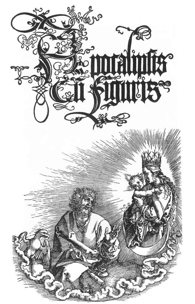 Title page to the second Latin Edition of 1511 - Albrecht Durer