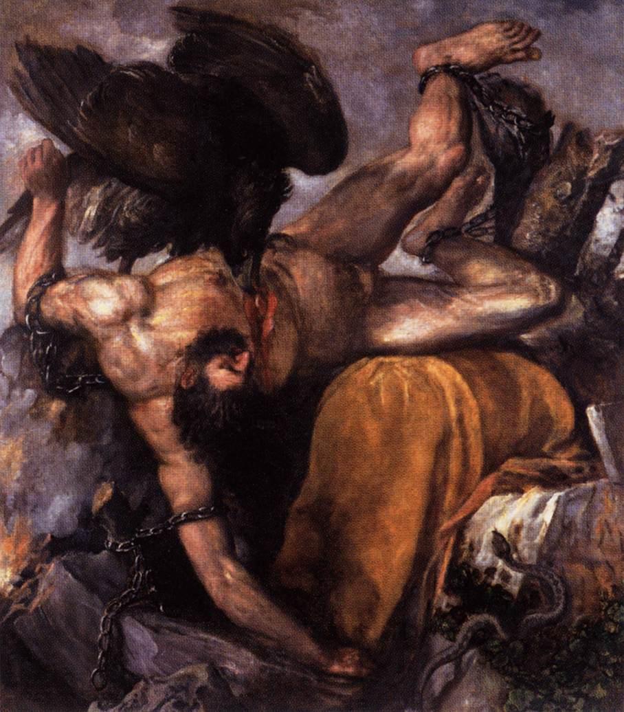 Tityus - Titian
