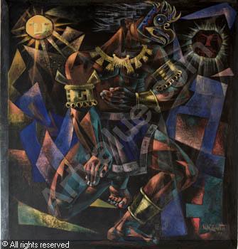 Tlaloc, God Of The Rain - Vela Zanetti