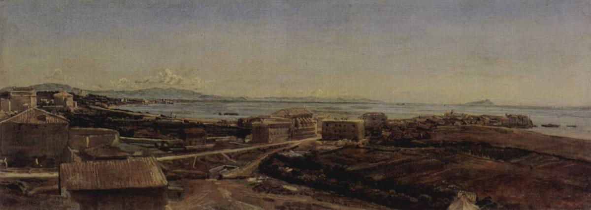 Torre del Greco near Pompea and Naples - Alexander Ivanov