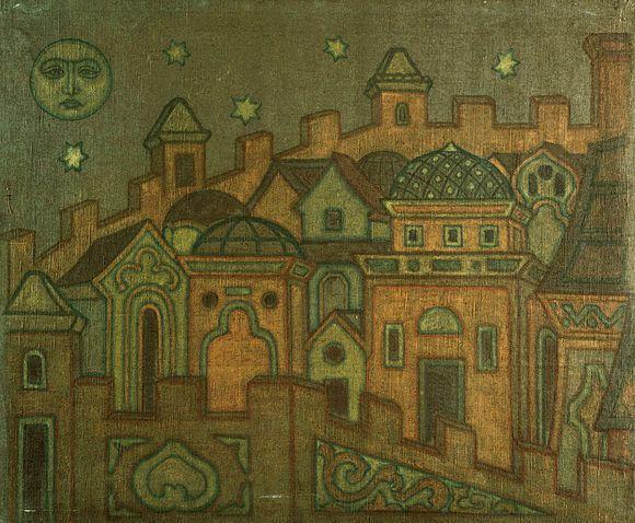 Towns - Nicholas Roerich
