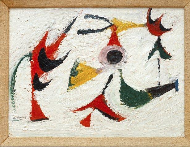 Tracking Down Guiltless Doves - Arshile Gorky