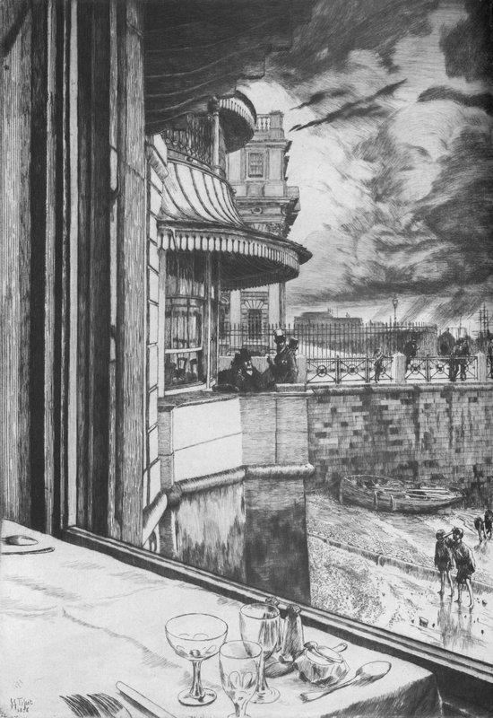 Trafalgar Tavern - James Tissot