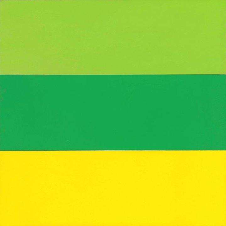 Train Landscape - Ellsworth Kelly