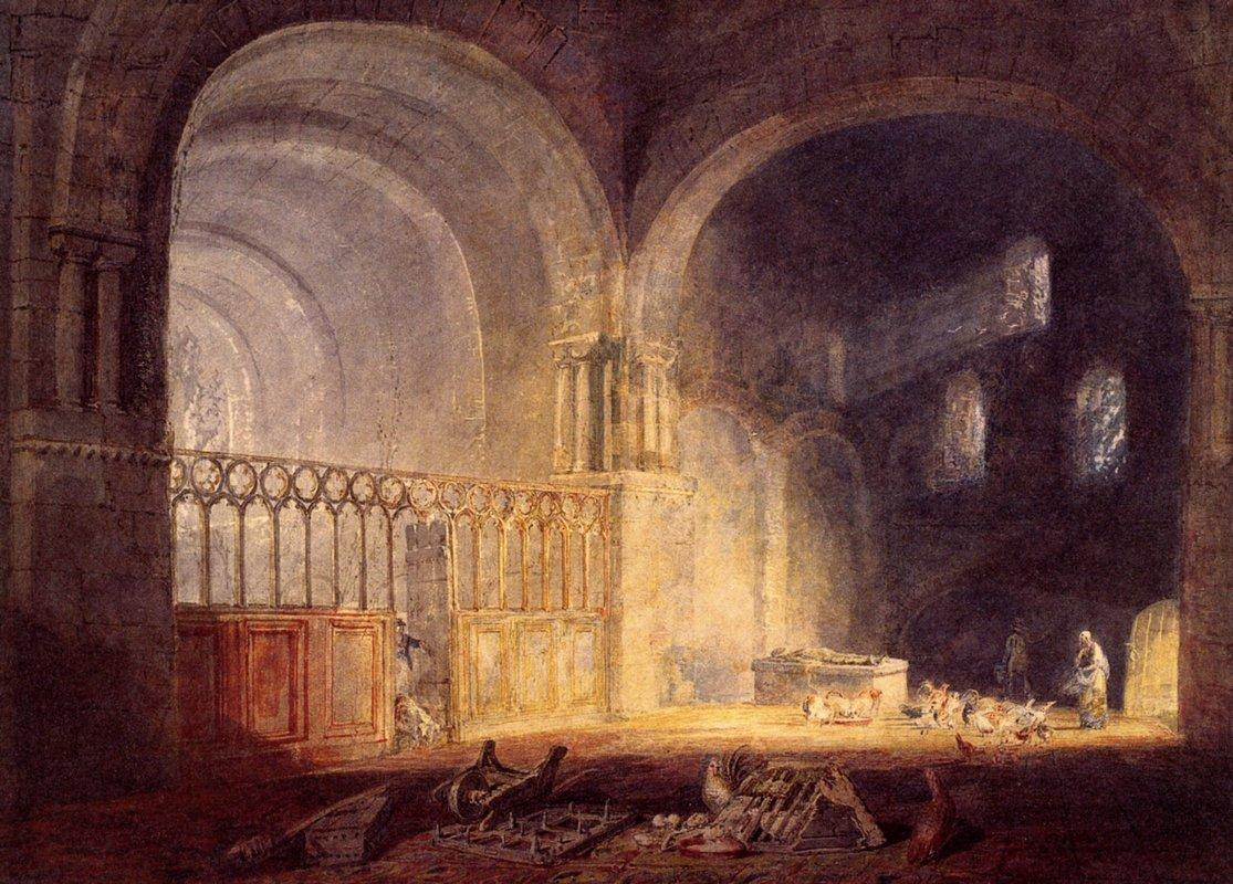 Transept of Ewenny Priory, Glamorganshire - William Turner