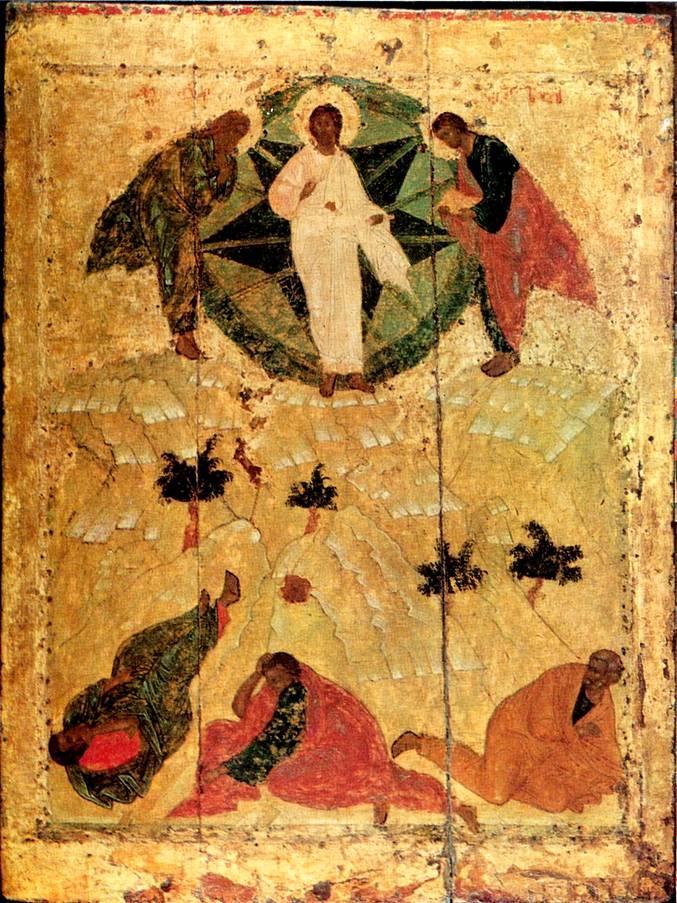 Transfiguration of Jesus - Andrei Rublev