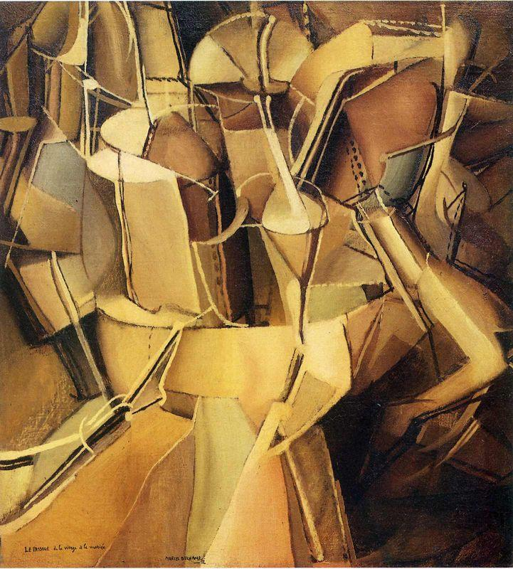 Transition of Virgin into a Bride  - Marcel Duchamp