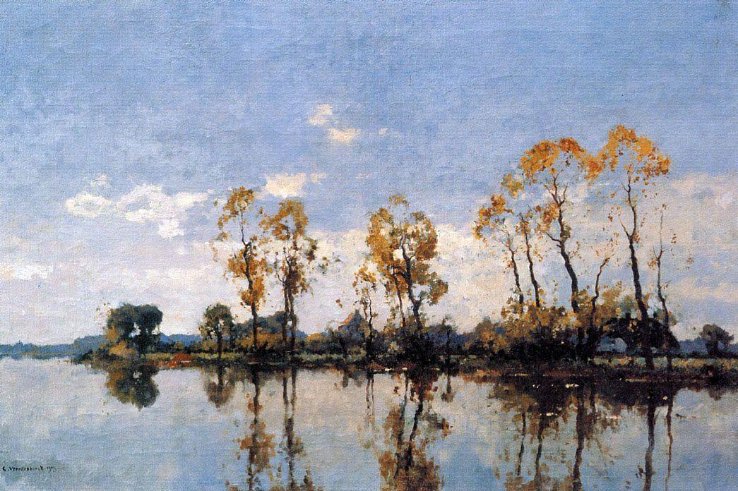 Trees At The Waal - Cornelis Vreedenburgh