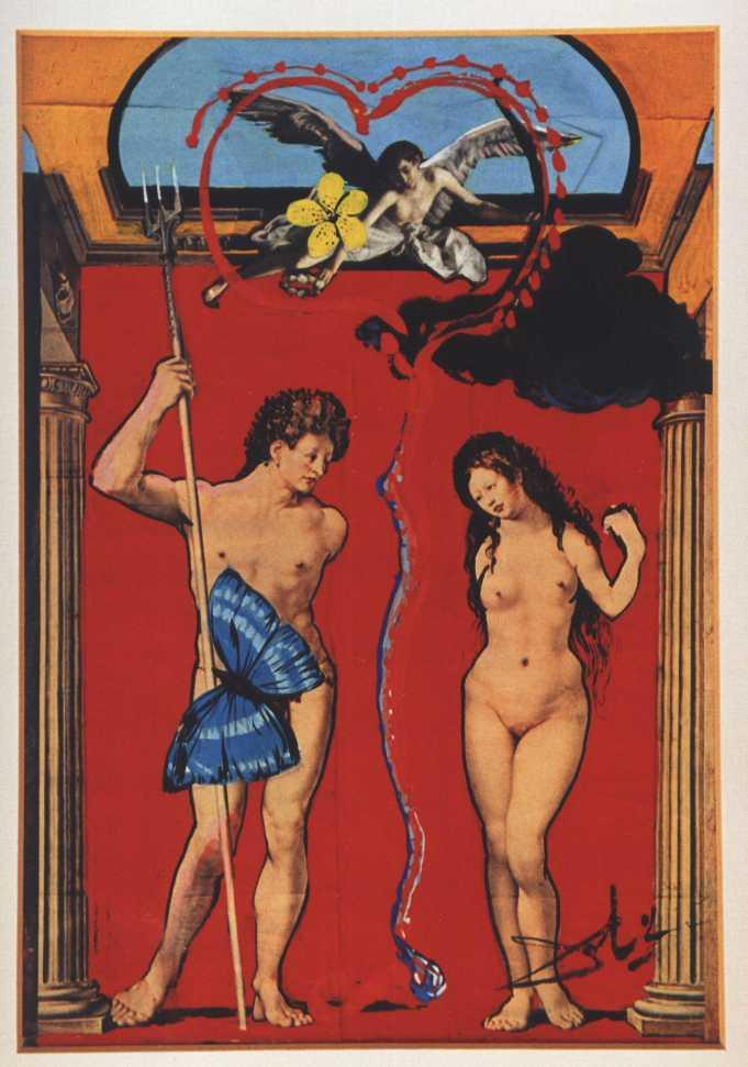 Triomphe De L'Amour - Salvador Dali