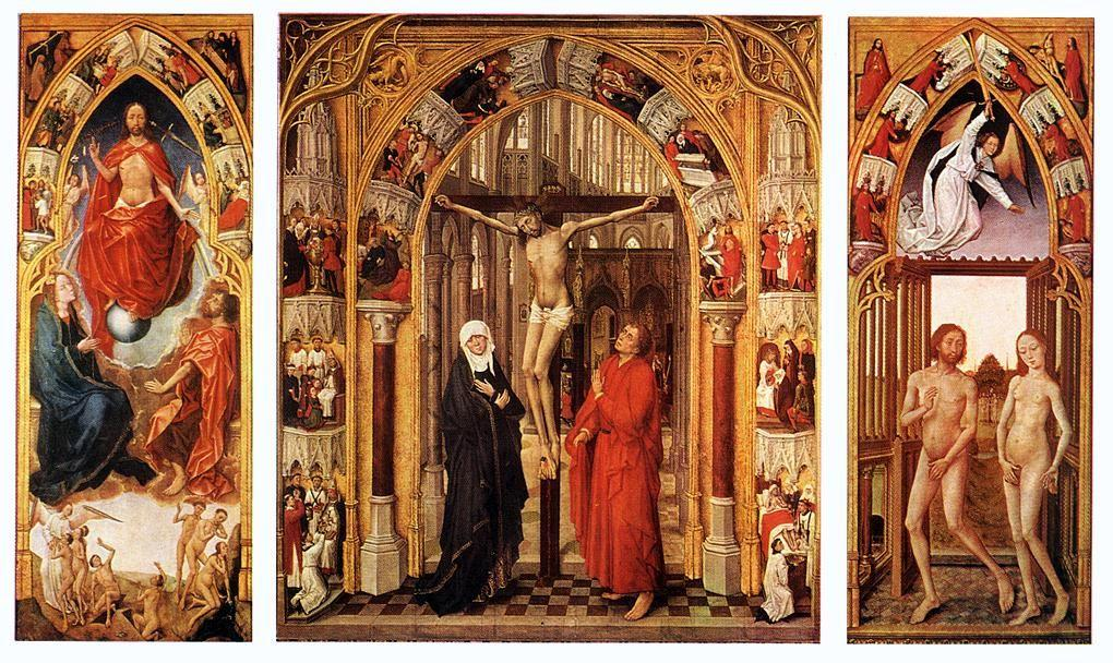 Triptych of the redemption - Rogier van der Weyden