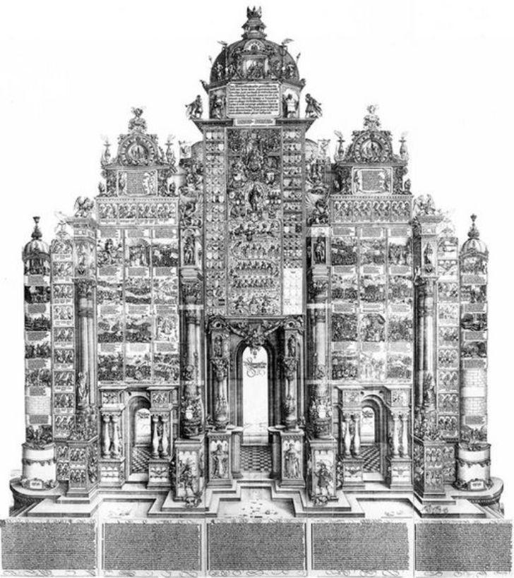 Triumphal Arch - Albrecht Durer