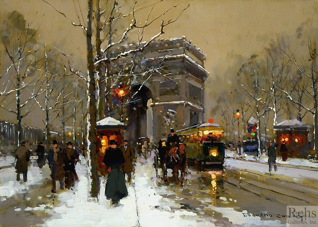 Triumphal Arch - Edouard Cortes