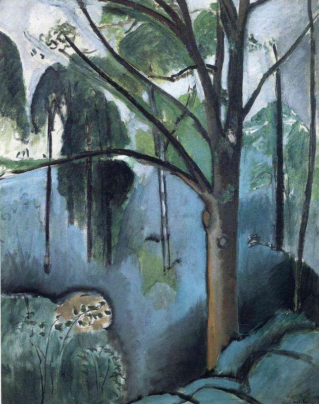 Trivaux Pond - Henri Matisse
