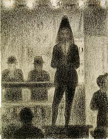 Trombone player - Georges Seurat