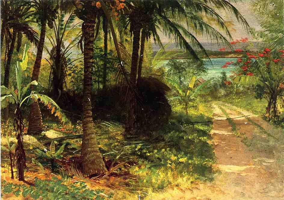 Tropical Landscape - Albert Bierstadt