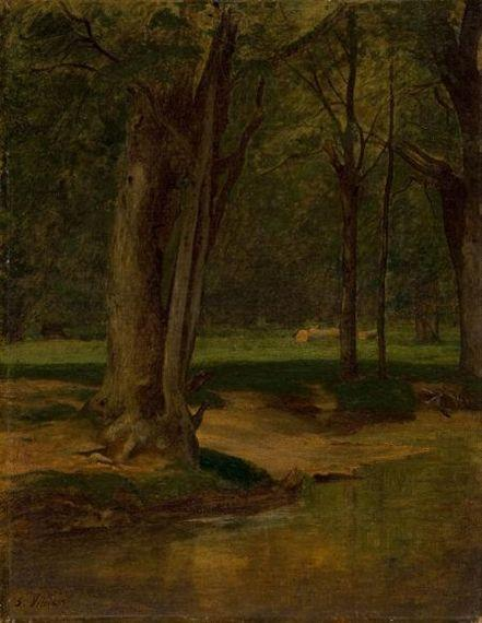 Trout Stream, North Conway - George Inness