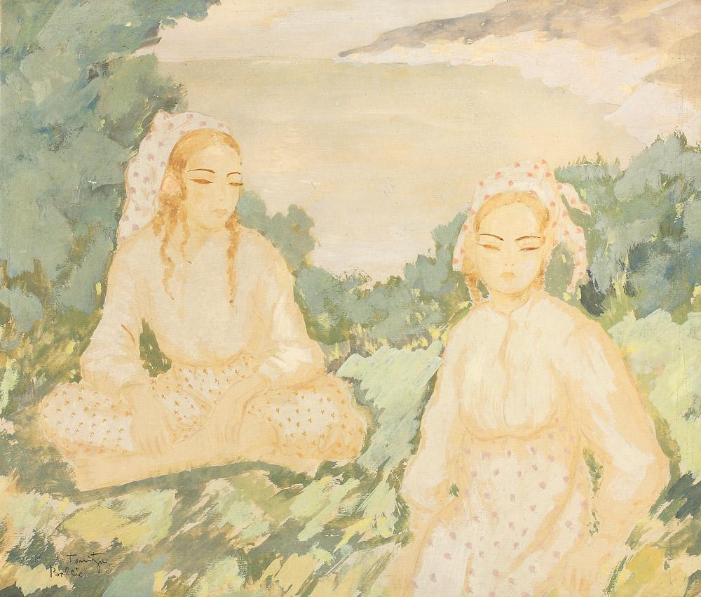 Turk Women in Balcic - Nicolae Tonitza