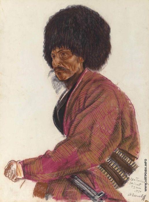 Turkmen. Khairat  - Alexandre Jacovleff