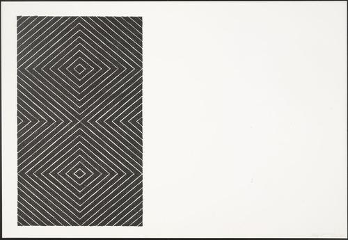 Tuxedo Park (from Black Series II) - Frank Stella